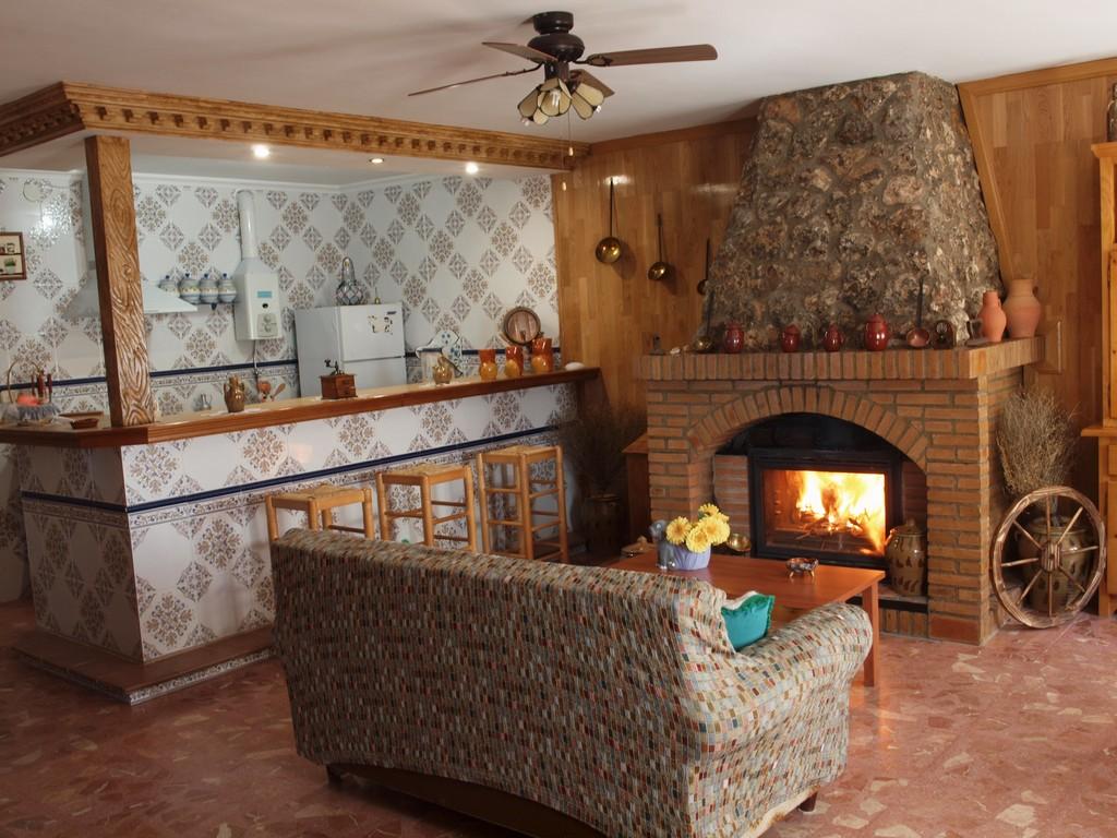 Fotos casa rural casa rural balcon de san roque for Cocinas para casas rurales